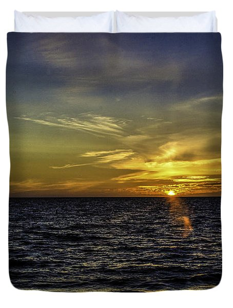 Painted By God Duvet Cover