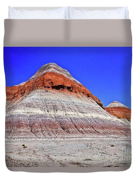 Painted Desert National Park Duvet Cover by Bob and Nadine Johnston