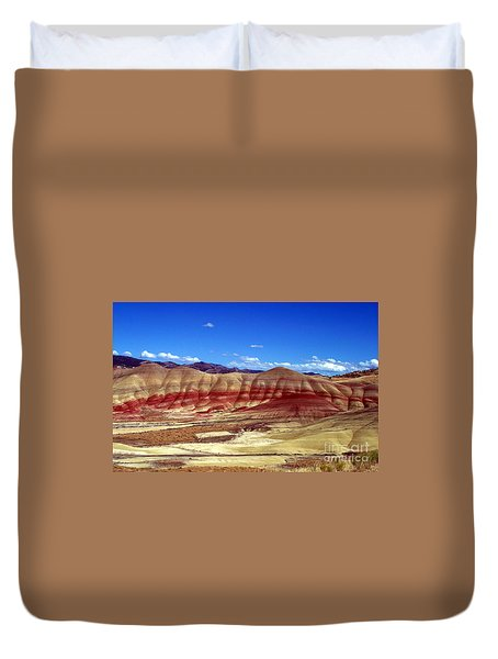 Painted Hills Duvet Cover by Chalet Roome-Rigdon