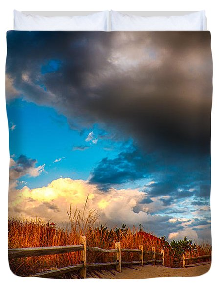 Painted Duvet Cover