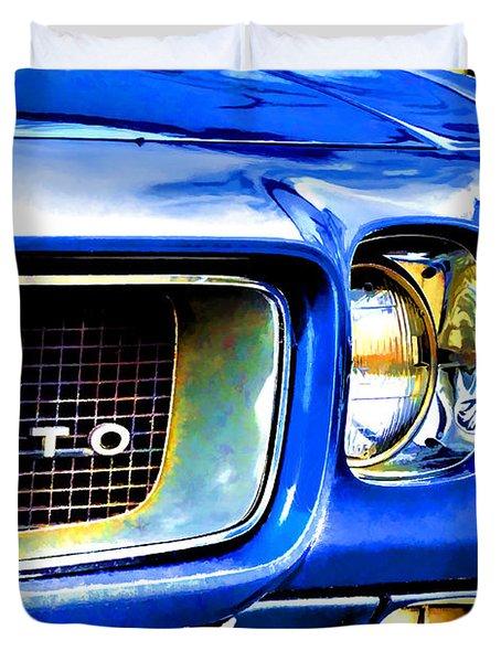Painted Pontiac Duvet Cover