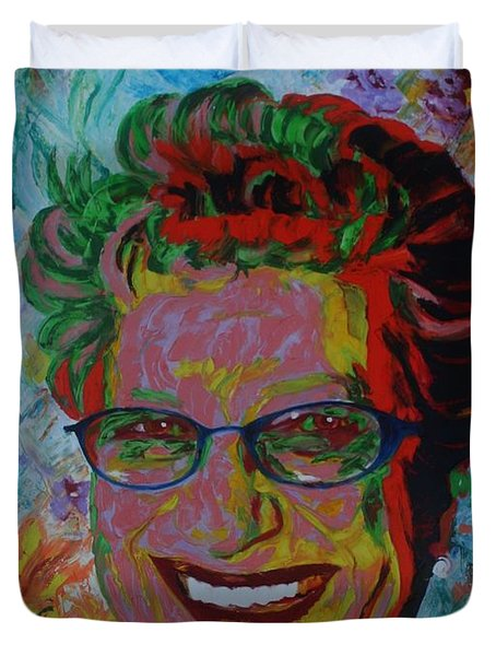 Painterartist Fin Duvet Cover by PainterArtist FIN