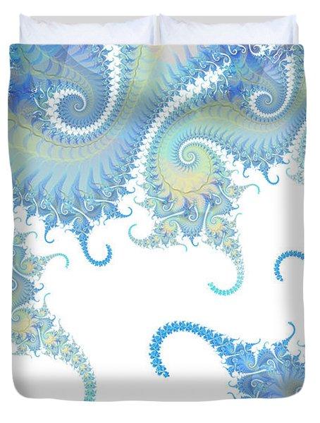 Paisley Tails Duvet Cover