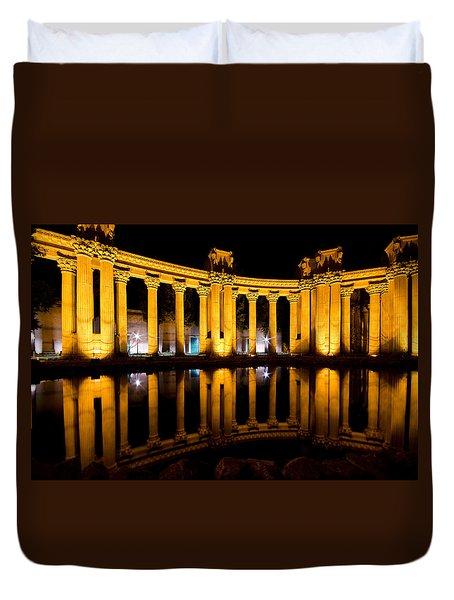 Palace Of Fine Arts San Francisco Duvet Cover