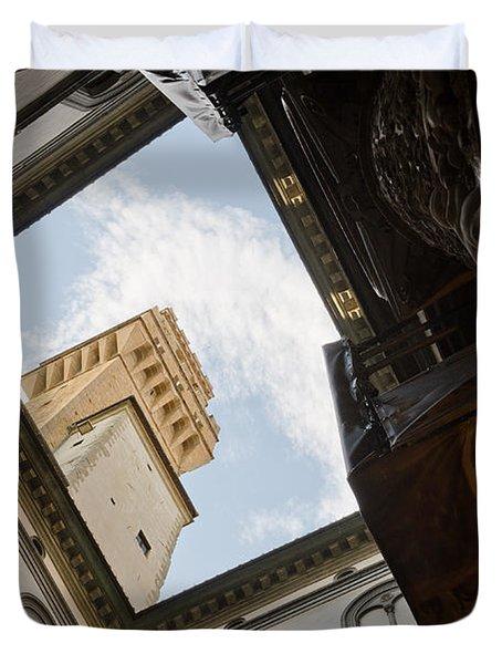Palazzo Vecchio Duvet Cover
