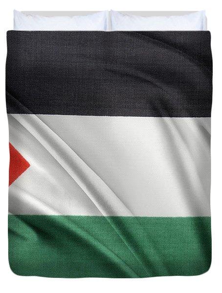 Palestine Flag Duvet Cover