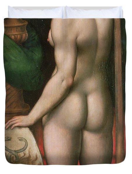 Pallas Athena Duvet Cover