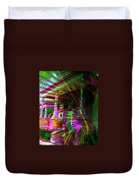 Palm Avenue Duvet Cover