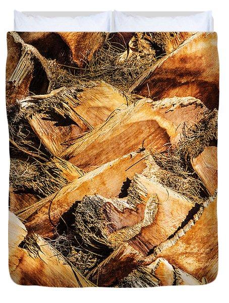 Palm Bark Duvet Cover by  Onyonet  Photo Studios