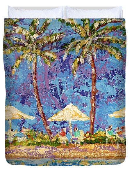 Palm Beach Life Duvet Cover