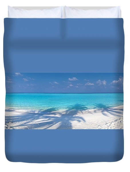 Palm Escape Duvet Cover