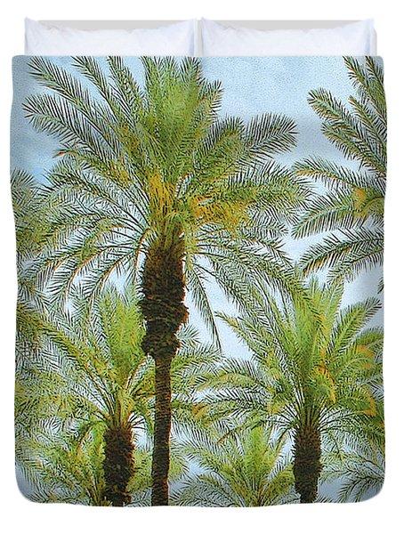 Palms Duvet Cover