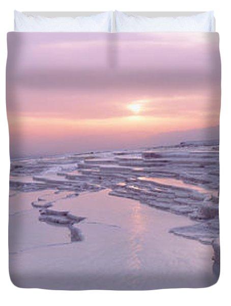 Pamukkale Turkey Duvet Cover