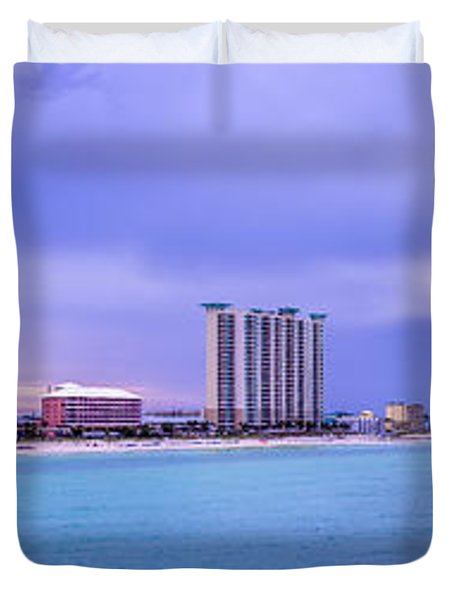 Panama City Beach Duvet Cover