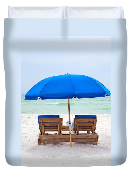 Panama City Beach Florida Duvet Cover