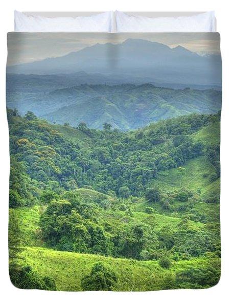 Panama Landscape Duvet Cover by Heiko Koehrer-Wagner