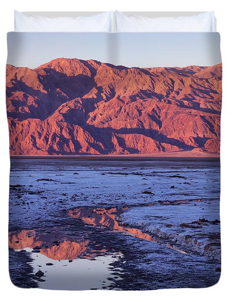 Panamint Reflection 2 Duvet Cover