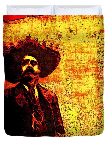 Pancho Villa Duvet Cover