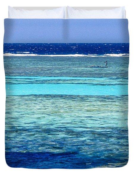Panorama Reef Duvet Cover