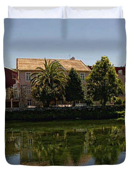 Panoramic Landscape Duvet Cover