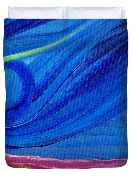 Panspermia  Duvet Cover by First Star Art