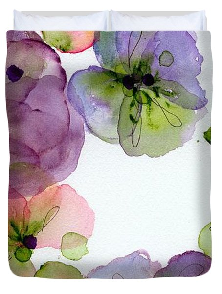 Pansy Fall Duvet Cover