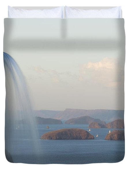 Papagayo Duvet Cover