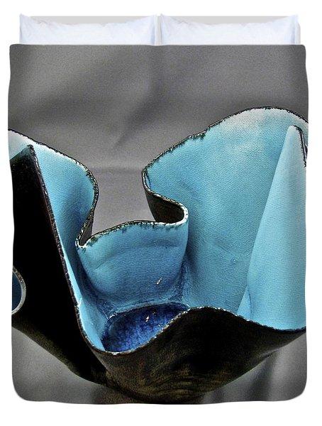 Paper-thin Bowl  09-003 Duvet Cover