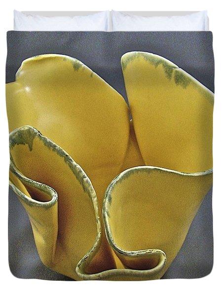 Paper-thin Bowl  09-004 Duvet Cover