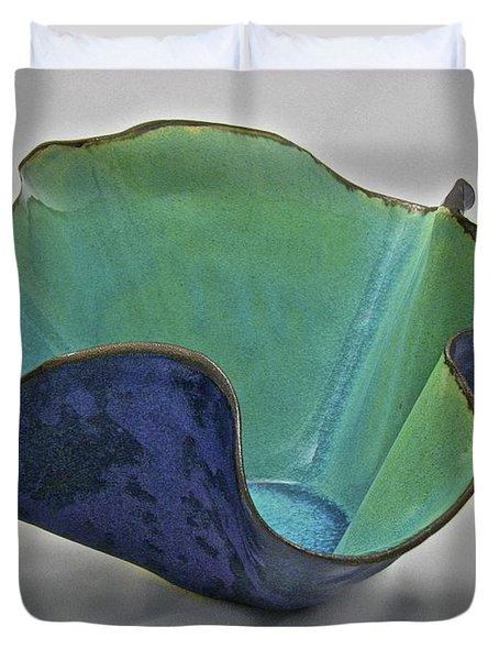 Paper-thin Bowl  09-006 Duvet Cover