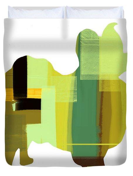 Papillion Duvet Cover by Naxart Studio