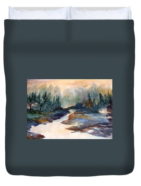 Pappa's Place Duvet Cover