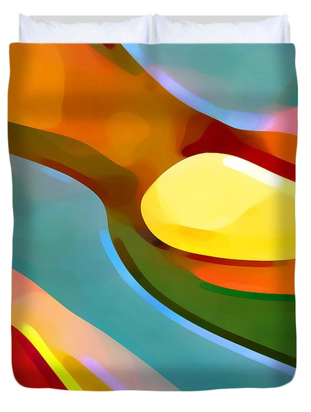 Paradise 5 Duvet Cover by Amy Vangsgard