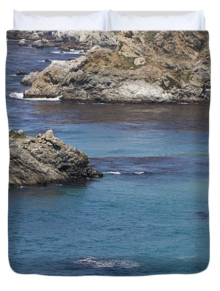 Paradise Beach Duvet Cover by David Millenheft