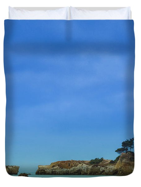 Paradise Beach Duvet Cover by Marco Oliveira