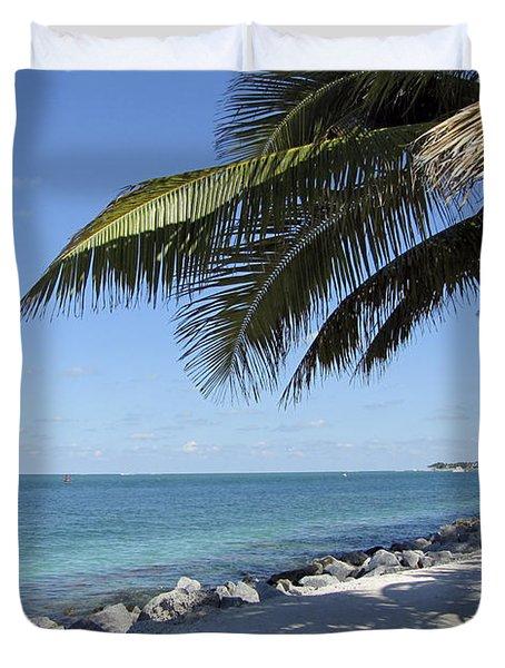Paradise - Key West Florida Duvet Cover
