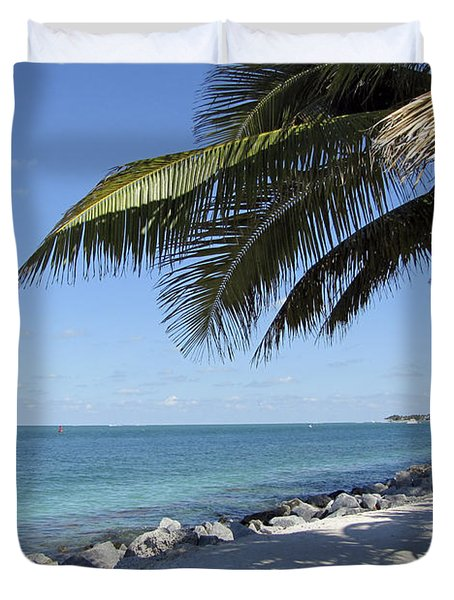 Paradise - Key West Florida Duvet Cover