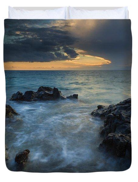 Paradise Cloud Explosion Duvet Cover