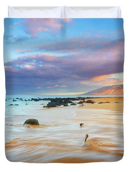 Paradise Dawn Duvet Cover