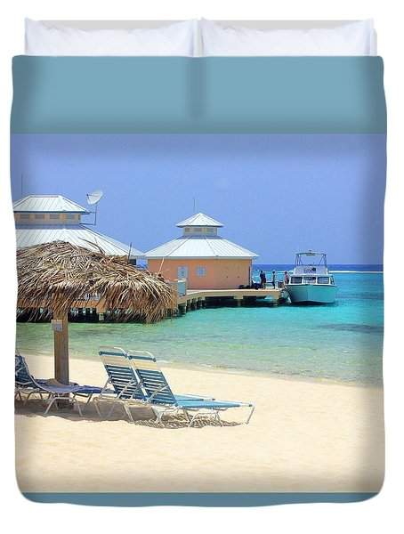 Paradise Docking Duvet Cover