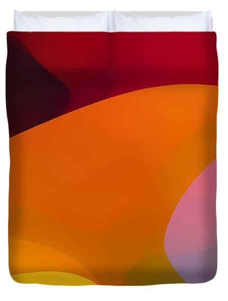 Paradise Found 1 Panel C Duvet Cover by Amy Vangsgard