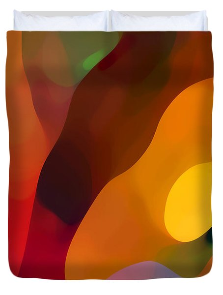 Paradise Found 3 Duvet Cover by Amy Vangsgard