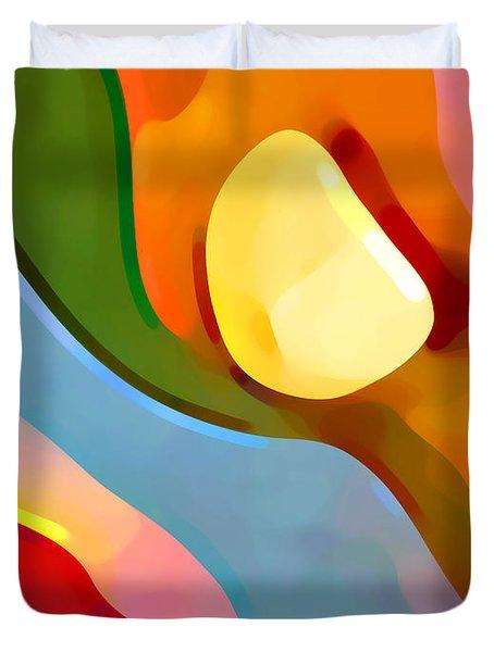 Paradise Found 4 Duvet Cover by Amy Vangsgard
