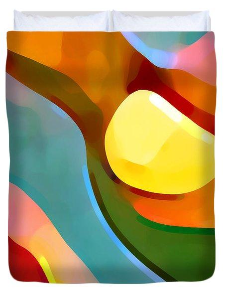 Paradise Found 7 Duvet Cover by Amy Vangsgard