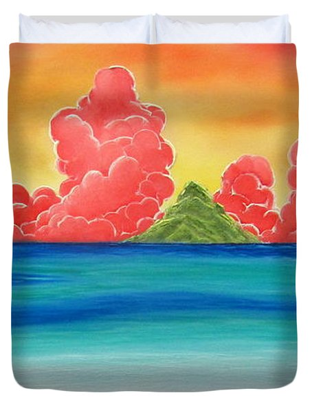Paradise Panorama Duvet Cover
