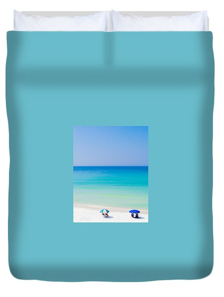 Paradise Duvet Cover by Shelby  Young