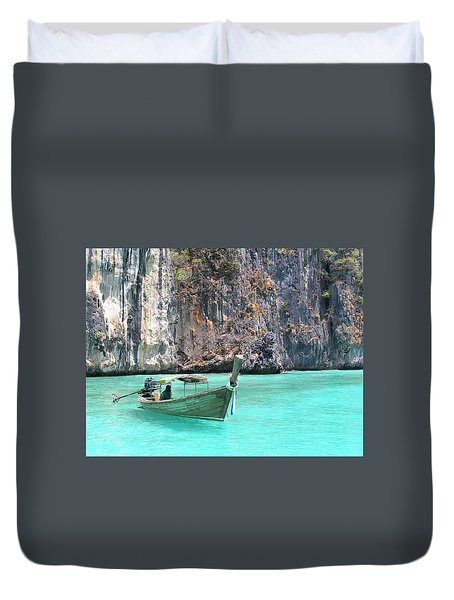 Paradise Water Holiday Duvet Cover