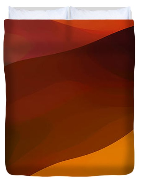 Paradisr Found 1 Panel B Duvet Cover by Amy Vangsgard