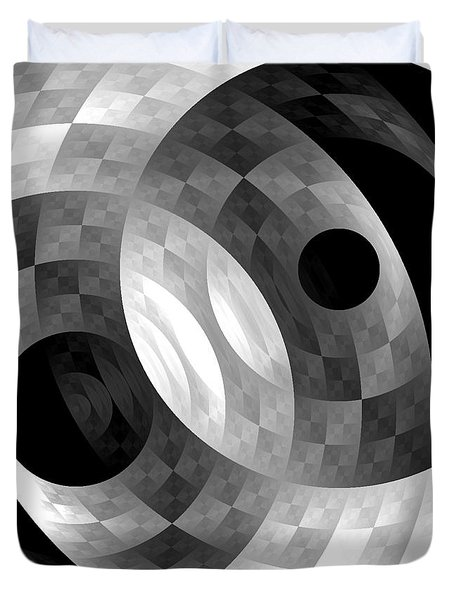 Parallel Universes Duvet Cover by Martina  Rathgens