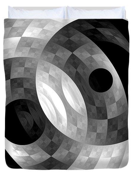 Parallel Universes Duvet Cover
